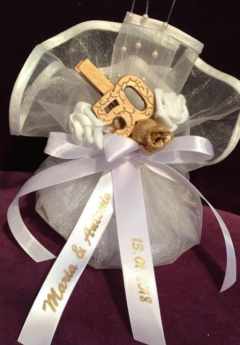 Goldenen Hochzeit oder Jubiläums Gastgeschenke