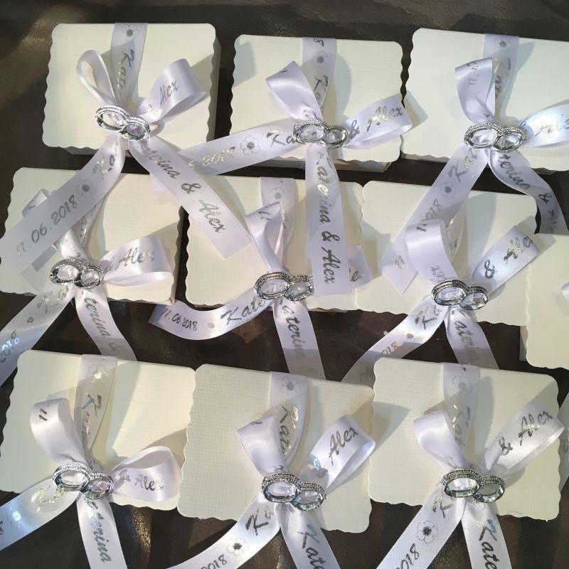 Personalisierte Bonboniere oder Hochzeits Giveaway