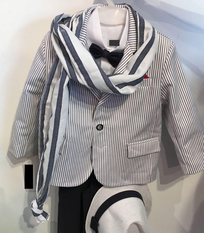 Haute Couture aus Griechenland ! Wunderschöner Anzug für die Taufe !