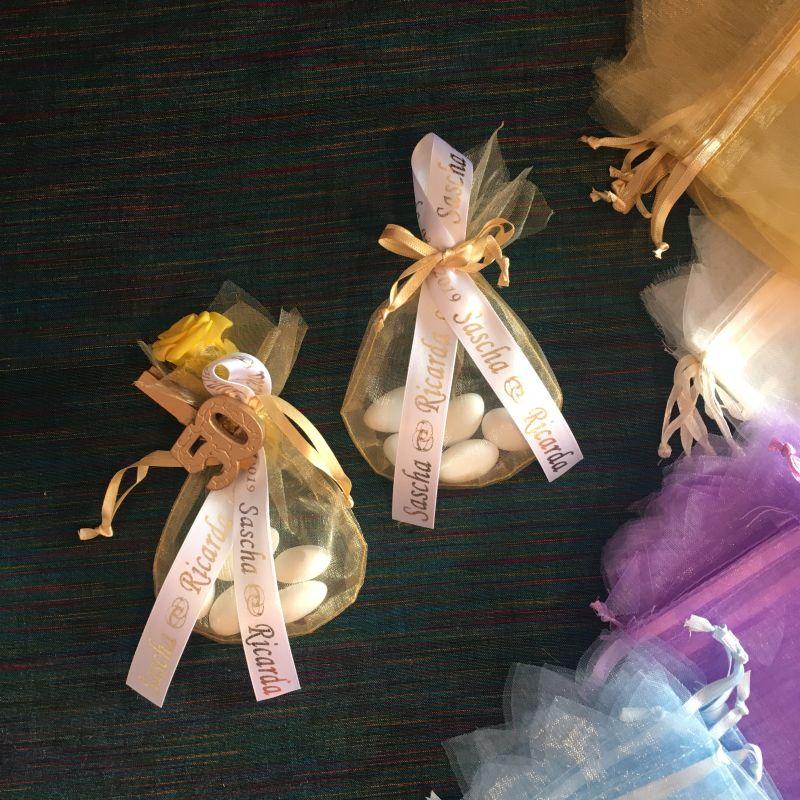 Günstige personalisierte Bonboniere zur Hochzeit!