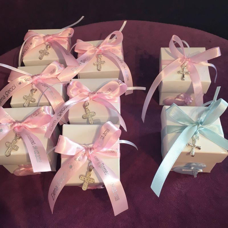 Bonboniere oder Gastgeschenke zur Taufe