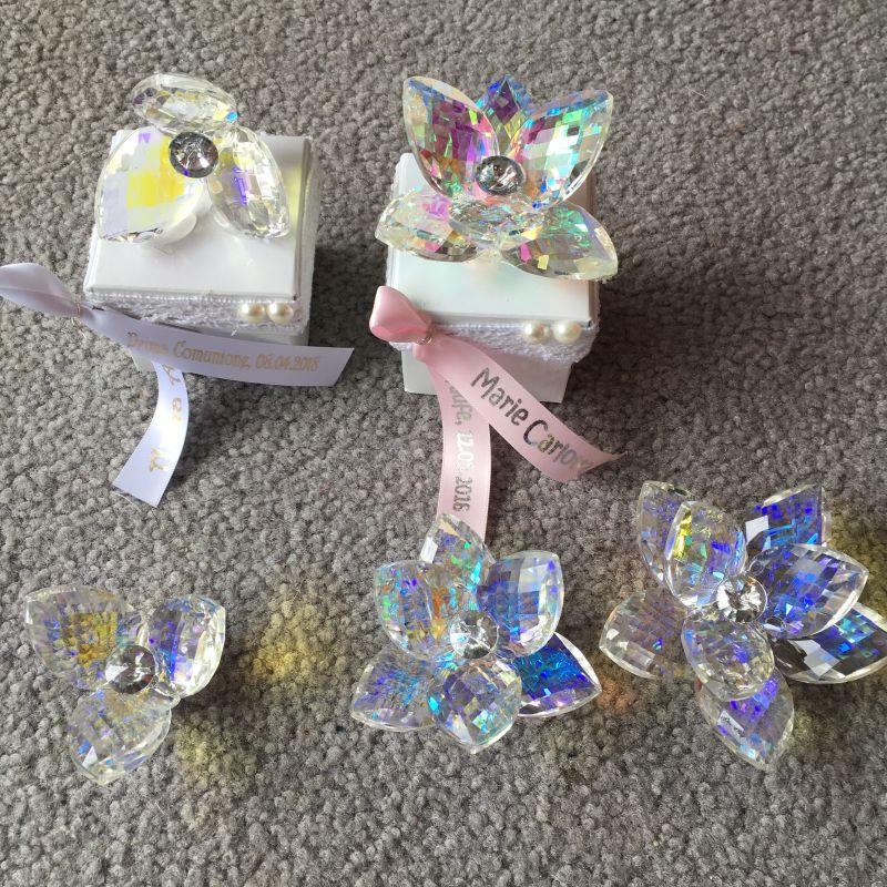 Wunderschöne Kristall Seerosen