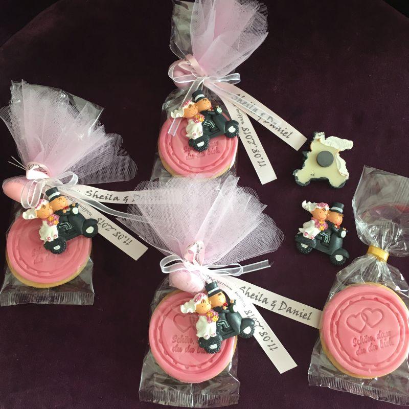 Personalisierte Bonboniere oder Gastegeschenke zur Hochzeit!