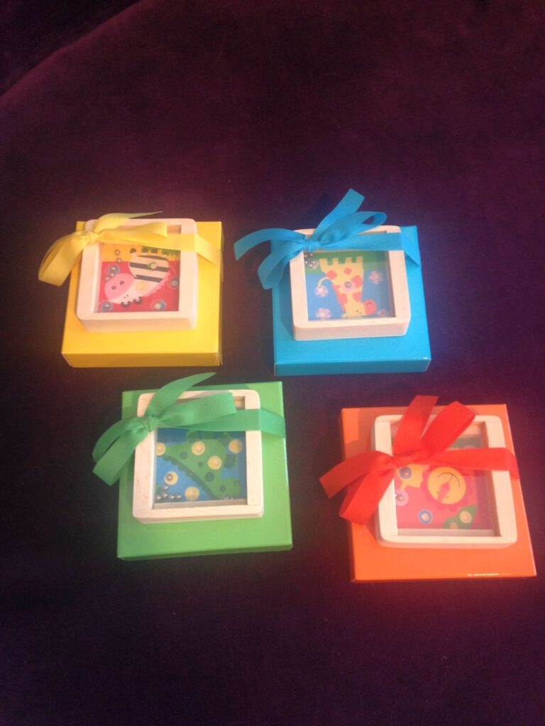 Spiele-Geschenk für Kindergeburtstage