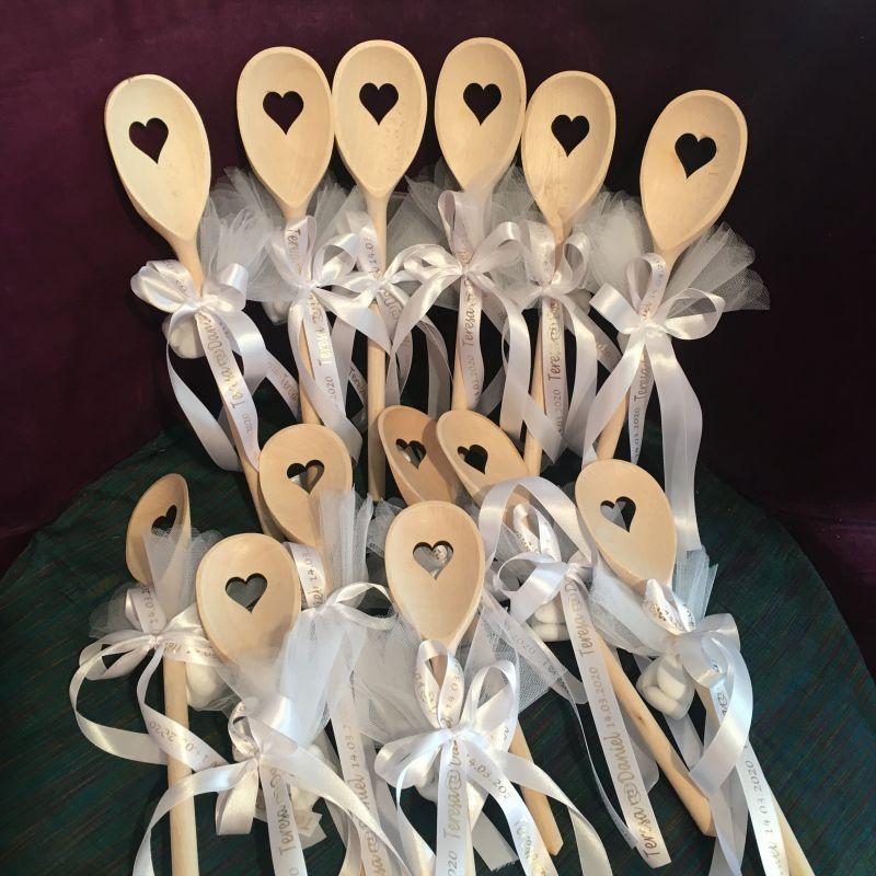Personalisierte Gastgegeschenke oder giveaways zur Hochzeit!