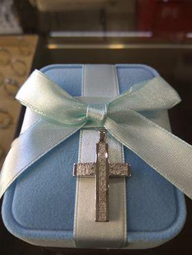 Kreuz zur griechisch-orthodoxe Taufe