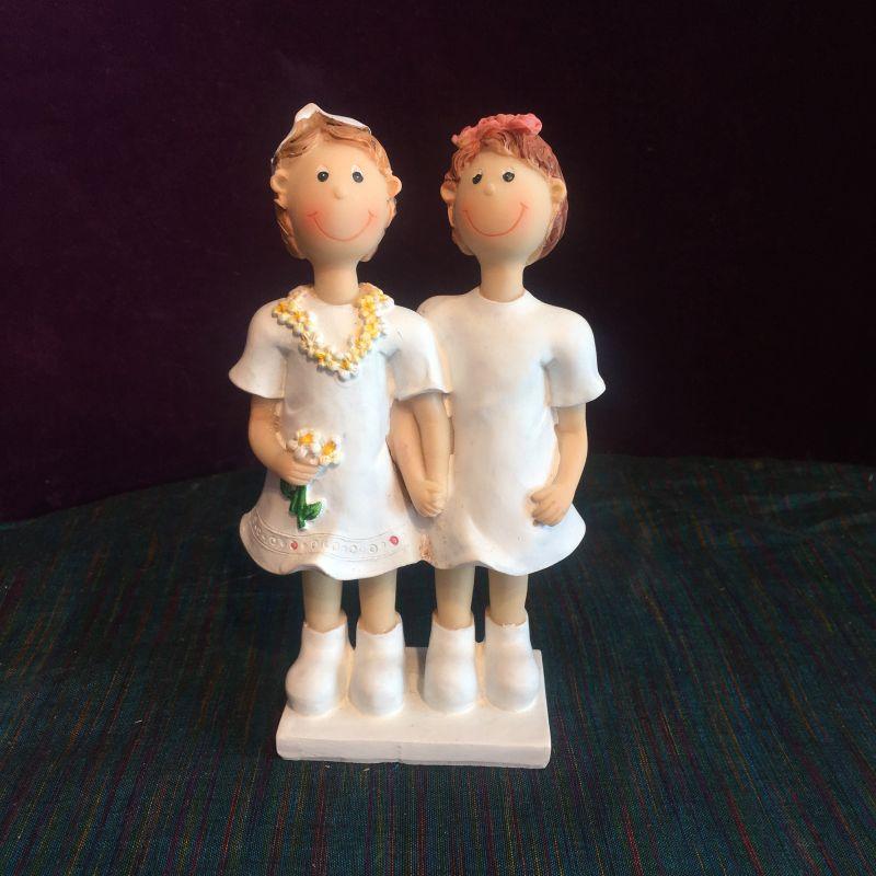 Homoehe Frauenpaar Tortenfigur