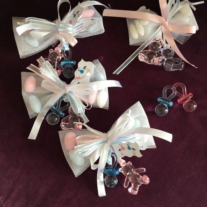 Gastgeschenke für Zwillinge zur Babyshower, Geburt oder Taufe
